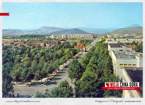 Panorama Titograda, sedamdesete