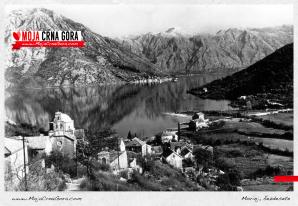 Morinj, Boka Kotorska, šezdesete