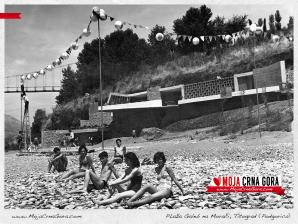 Ljeto na Morači na plaži Galeb (Podgorica)
