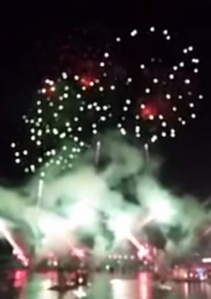 VIDEO: Spektakularni vatromet u Bokeljskoj noći