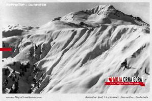Stara razglednica: Bobotov kuk (Durmitor), tridesetih godina