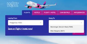 Dolazi Wizz Air! Jeftini letovi za Milano i Minhen, već od 24,99e